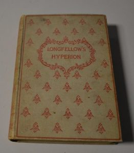 Rare 1894 Longfellow's Hyperion: A Romance Book by Henry Wadsworth Porland Ed. $39.95